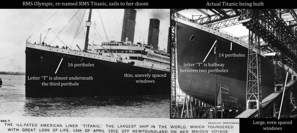 The Titanic Switch Theory Exposed
