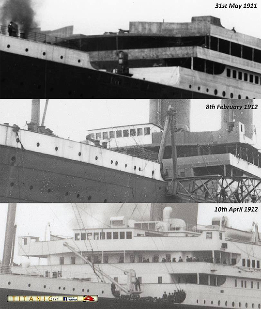 Photo Rms Olympic Deck Plans Images